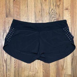 lululemon Dark Grey Speed Up Shorts